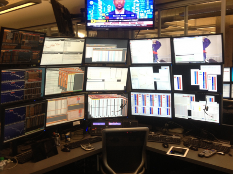 The forex room